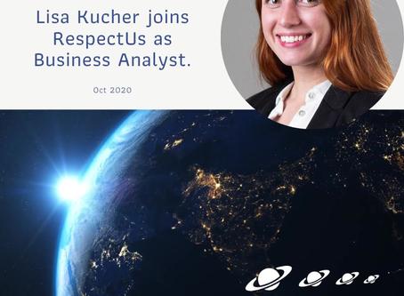 Lisa Kucher new Business Analyst to RespectUs