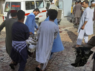 תיעוד: לפחות מאה הרוגים בפיגוע במסגד בקאבול