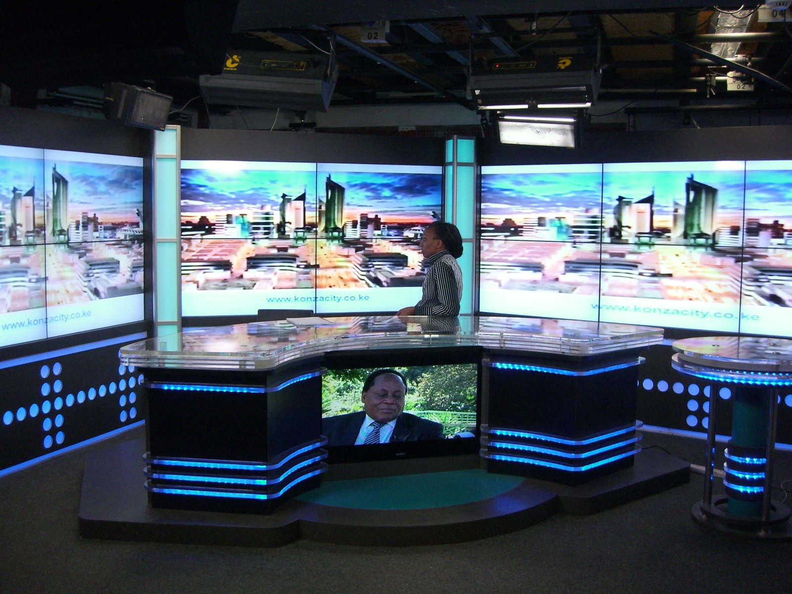 Studio Set & VideoWall