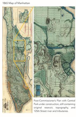 1865 Map of Manhattan