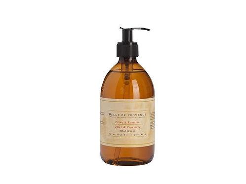 Belle de Provence Olive Oil & Rosemary Liquid Soap 500ml