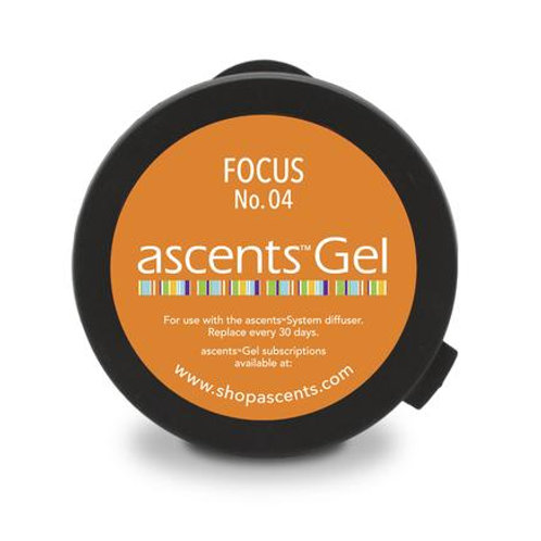 Focus No. 04 Ascents® Solid Essential Oil Gel