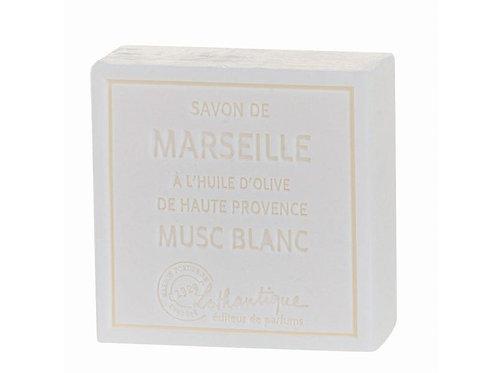 Les Savons de Marseilles White Musk Soap 100g