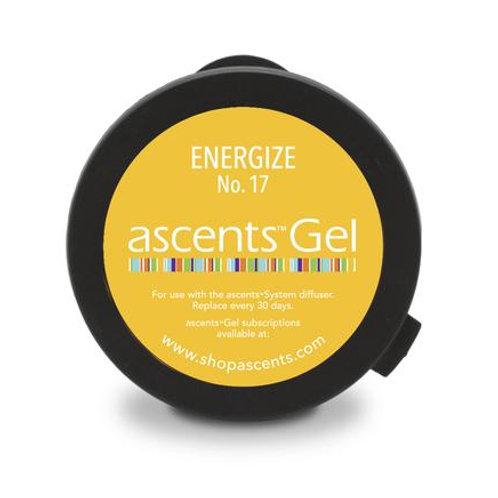 Energize No. 17 Ascents® Solid Essential Oil Gel