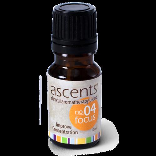 Focus No. 04 Ascents® Liquid Essential Oil Formula (10ml)