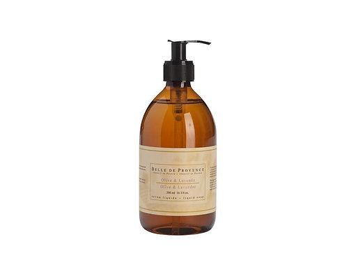 Belle de Provence Olive Oil & Lavender Liquid Soap 500ml