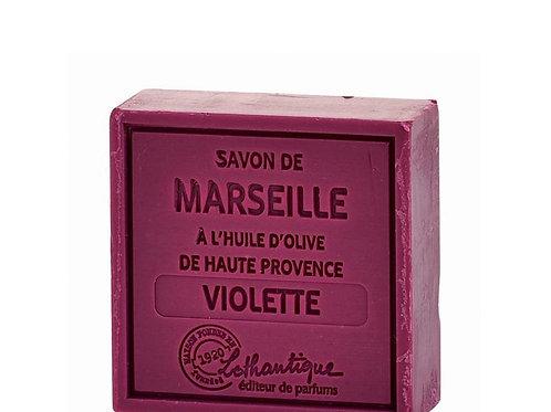 Les Savons de Marseilles Violet Soap 100g