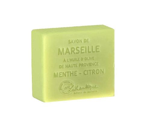 Les Savons de Marseilles Mint-Lemon Soap 100g