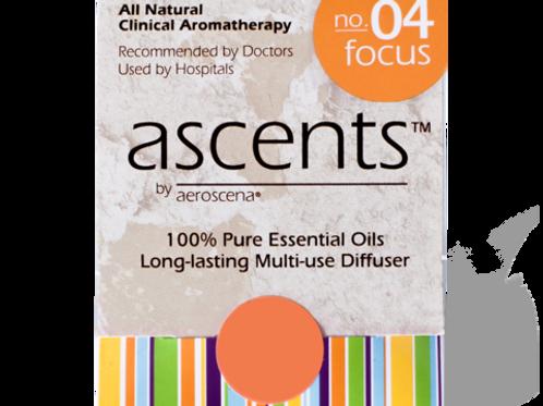 Focus No. 04 Ascents® Essential Oil Inhaler