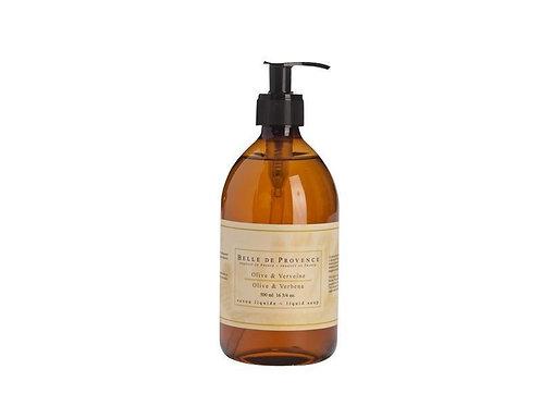 Belle de Provence Olive Oil & Verbena Liquid Soap 500ml