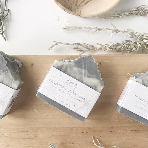 Charcoal Mint Soap