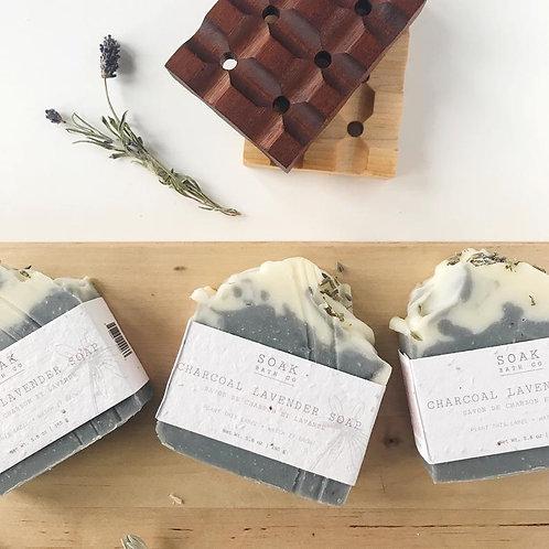 Charcoal Lavender Soap