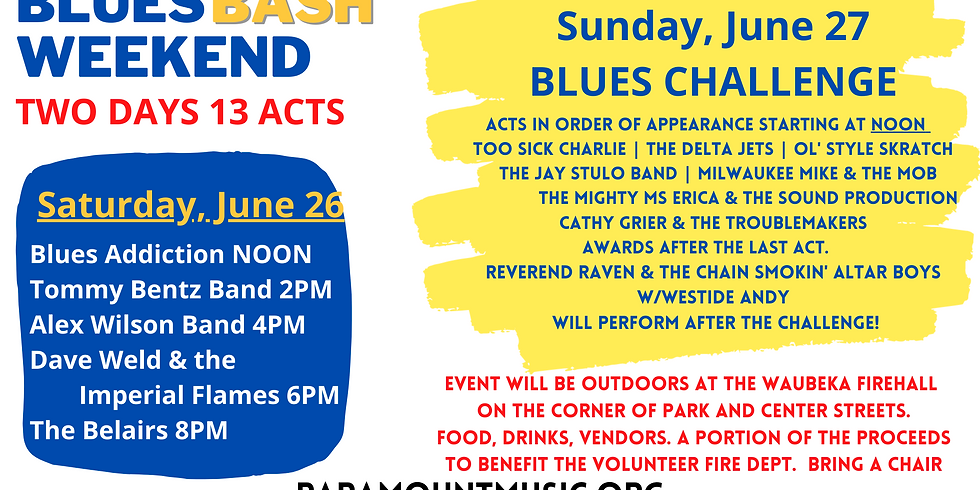 Blues Bash Weekend