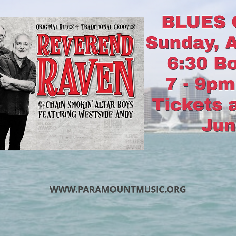 Blues Cruise with Reverend Raven