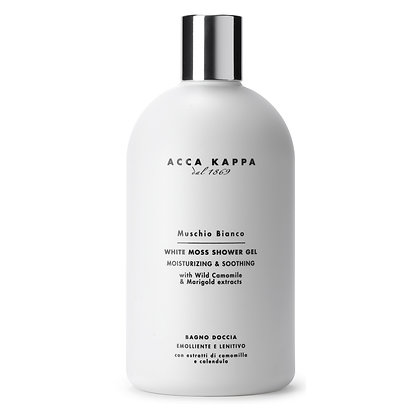 Acca Kappa White Moss Bath Foam & Shower Gel - 500 ML