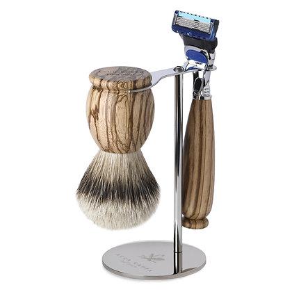 Acca Kappa Classic Wood Shaving Set