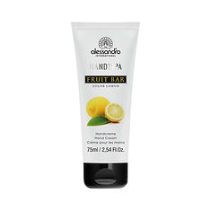 alessandro Fruit Bar Hand Cream Sugar Lemon - 75 ML