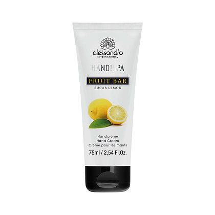 alessandro Fruit Bar Hand Cream Sugar Lemon - 75 ML
