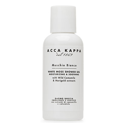 Acca Kappa White Moss Bath Foam & Shower Gel - 100 ML