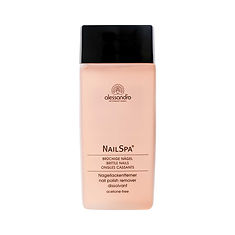alessandro Nail Spa Rose Nail Polish Remover - 120 ML
