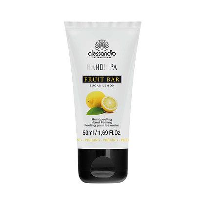 alessandro Fruit Bar Hand Peeling Sugar Lemon - 50 ML