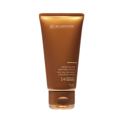 Academie Face Age Recovery Sunscreen Cream High Protection Fps 40 - 50 ML