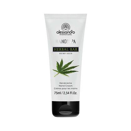 alessandro Herbal Bar Hand Cream Hempseed - 75 ML