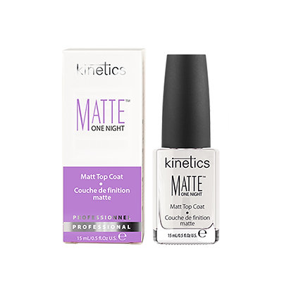 Kinetics Matte One Night  Top Coat- 15 ML
