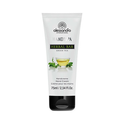 alessandro Herbal Bar Hand Cream Green Tea - 75 ML