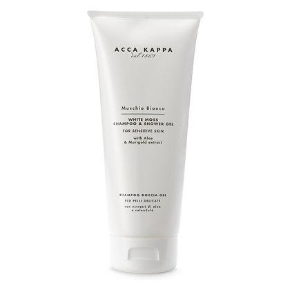 Acca Kappa White Moss Shampoo and Shower Gel - 200 ML