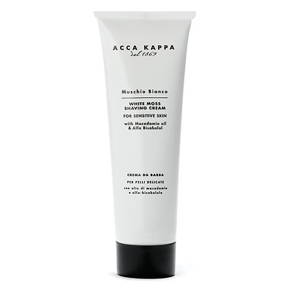 Acca Kappa White Moss Shave Cream - 125 ML