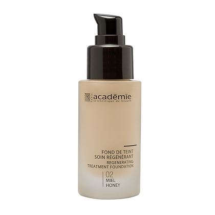 Academie Regenerating Treatment Foundation- Honey Shade - 30 ML