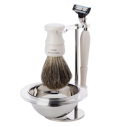 Acca Kappa Design Resina Shaving Set
