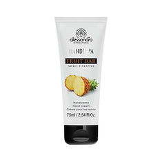 alessandro Fruit Barhand Cream Sweet Pineapple - 75 ML