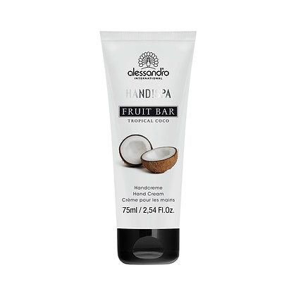 alessandro Fruit Bar Hand Cream Tropical Coco - 75 ML