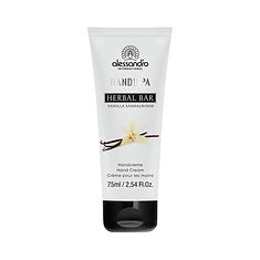 alessandro Herbal Bar Hand Cream Vanilla/ Sandalwood - 75 ML
