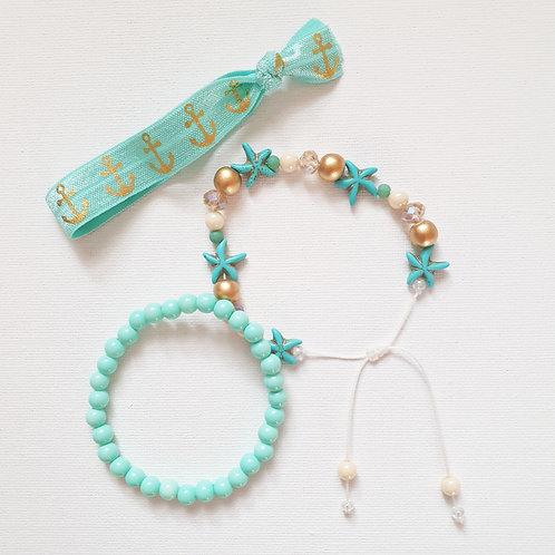 Armbandset 3tlg Bluebell Summertime