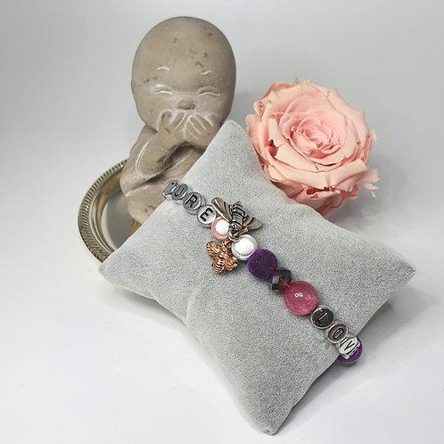 Armband Nature Love/ Makramee/größenverstellbar