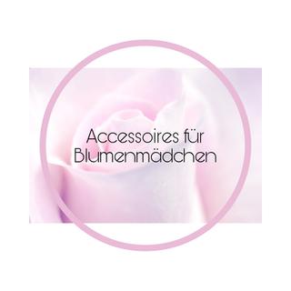 Accessoires für Blumenmädchen