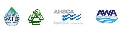 Pacific Water Association member, Fiji Islands Hotel and Tourism, Australian Hydraulics Association Member