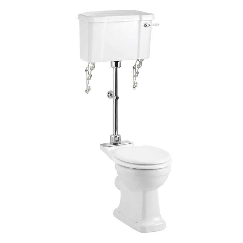 Mid level toilet burlington