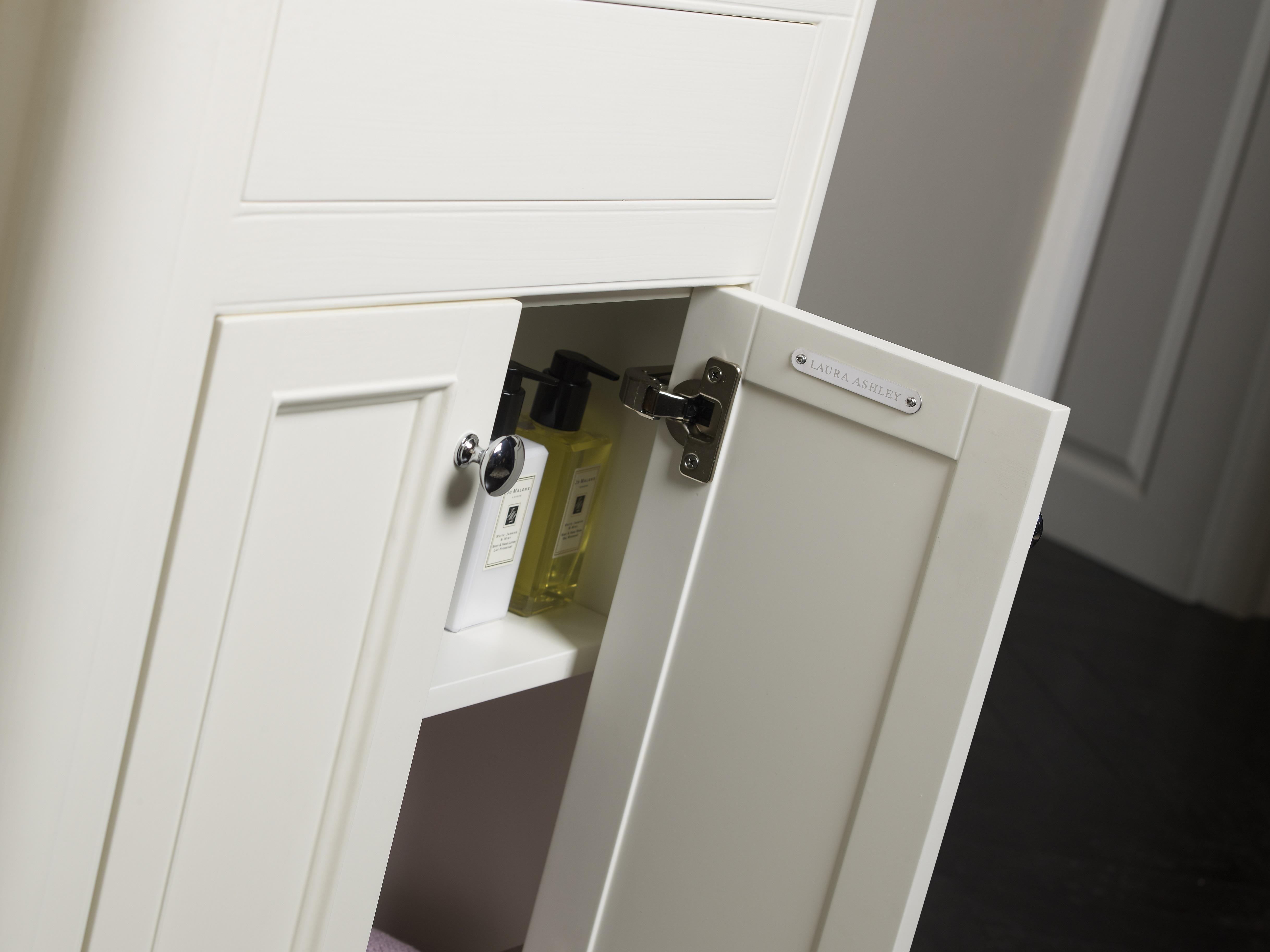 Langham freestanding unit open door