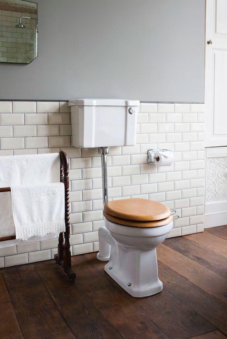 mid level toilet