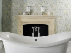 Clifton bath filler with stand pipes