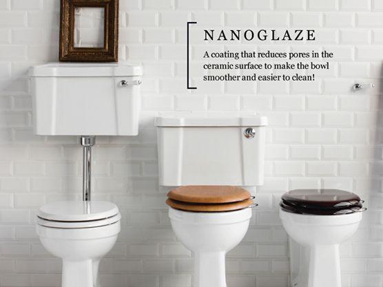 nanoglaze on different toilet option