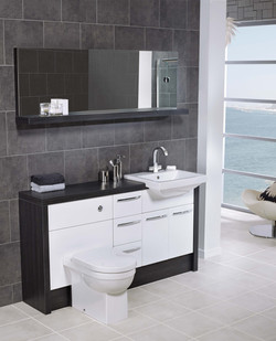 i-line Black Linear and White Gloss