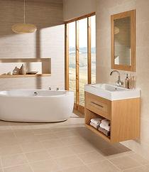 Utopia furniture bathrooms golden oak