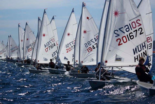 L'Europa cup Laser