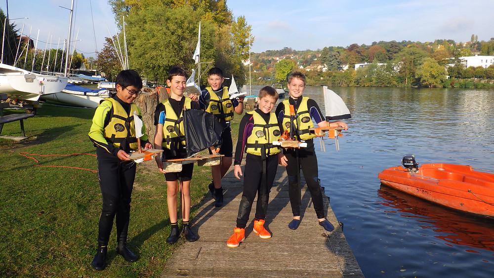 Notre troupe de jeunes marins