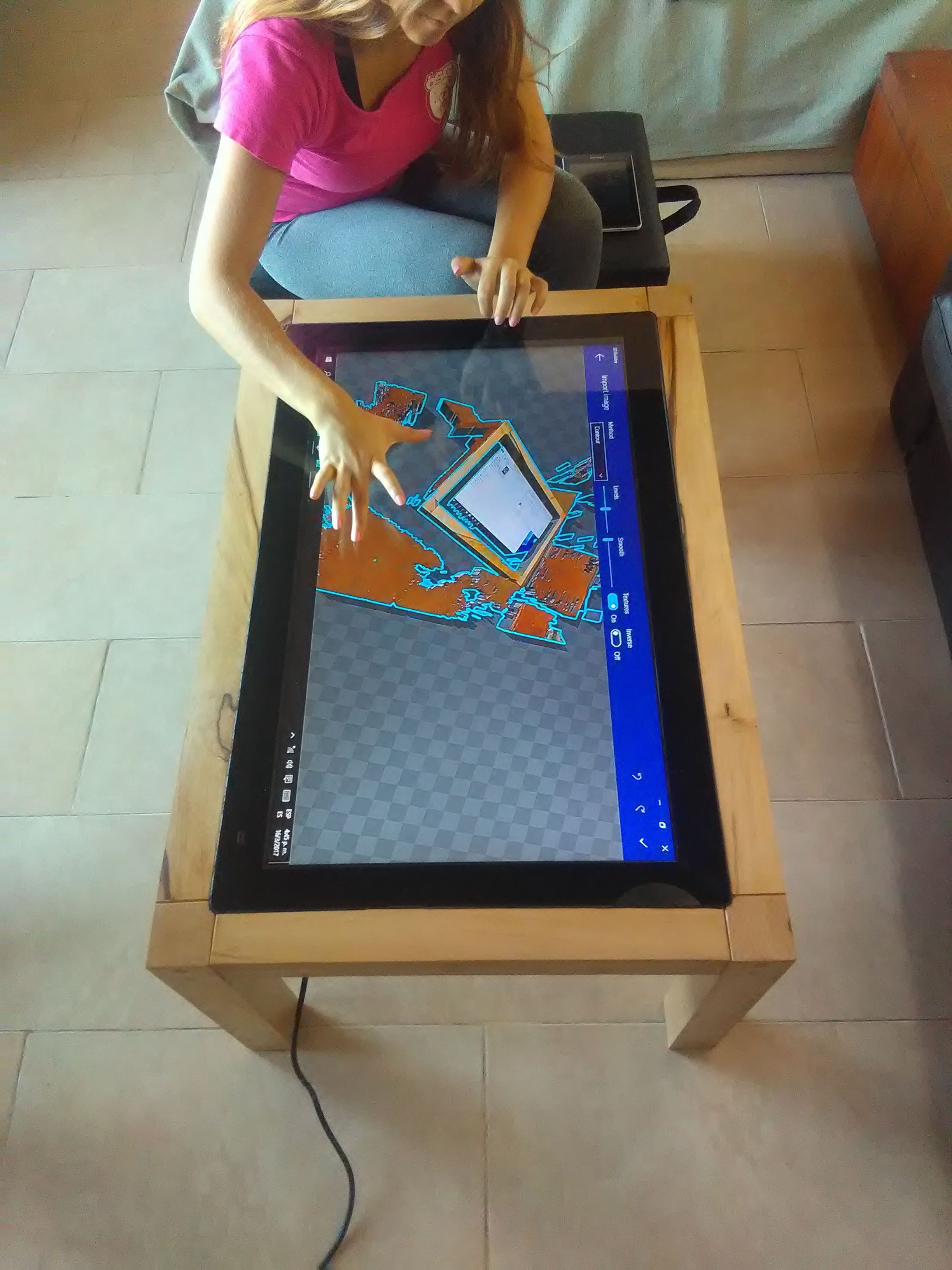 Mesa multitouch 32""
